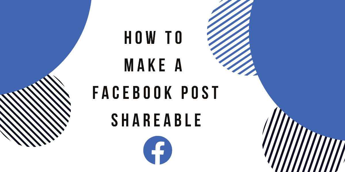 Make A Facebook Post